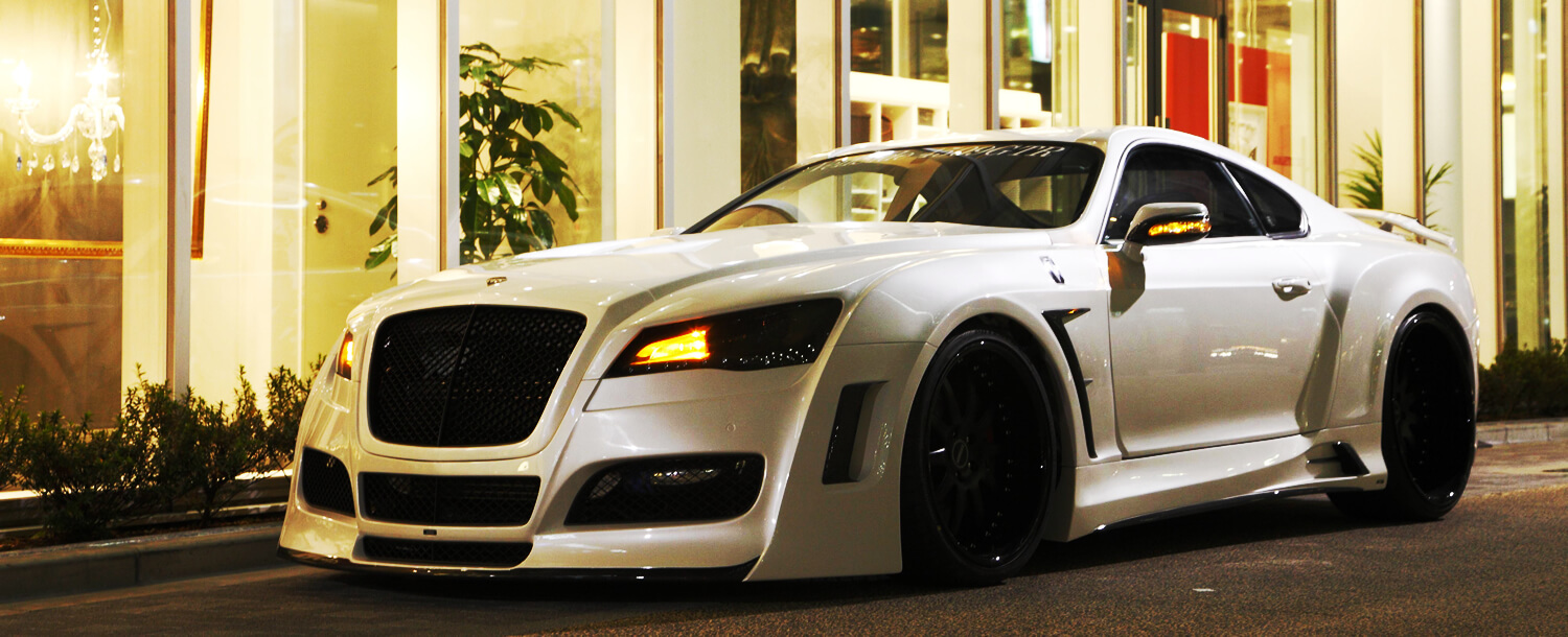 Take a look at our globally recognized custom car(s)【VeilSide】