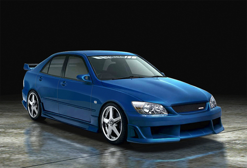 ALTEZZA SXE10 RACING EDITION MODEL イメージ1
