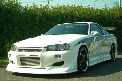 SKYLINE GT-S ER34 VSD1-GT MODEL イメージ1