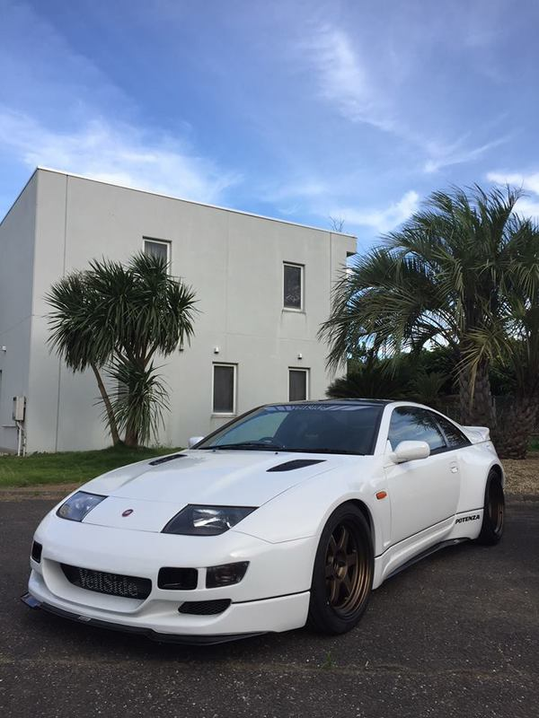 z32 300zx 2 2 wide body kit veilside co ltd ヴェイルサイド