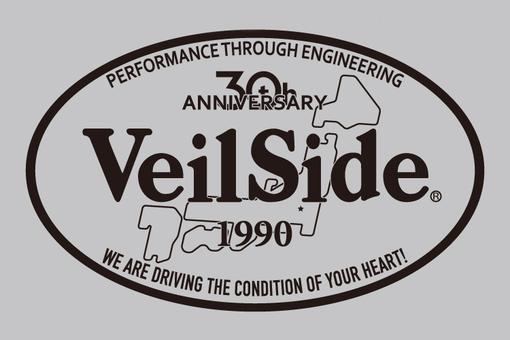 30th Anniversary VeilSide Oval Sticker イメージ1